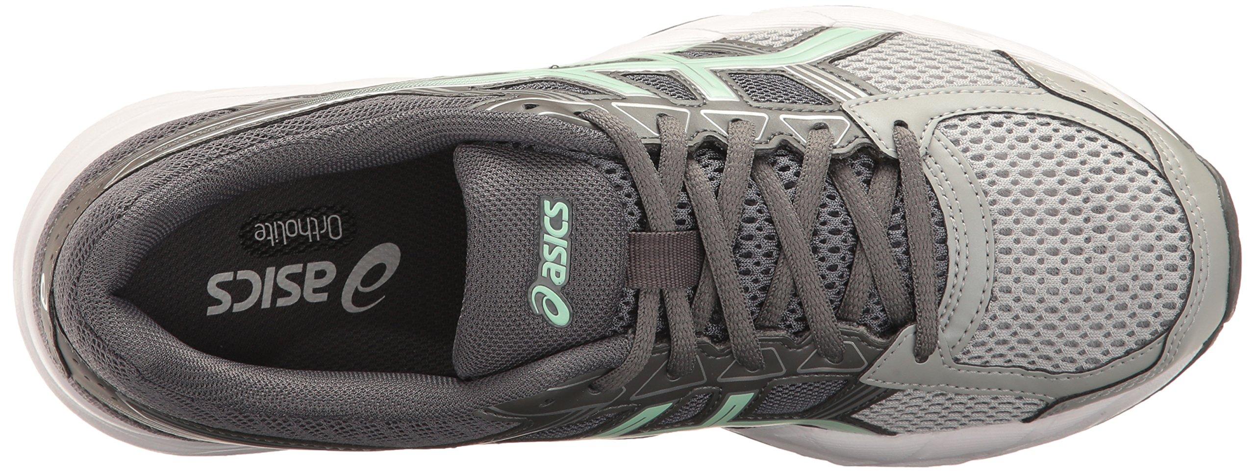 ASICS Womens Gel-Contend 4 Running Shoe, Mid Grey/Glacier Sea/Silver, 5 Medium US by ASICS (Image #8)