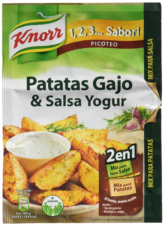 Knorr Patatas Gajo con Salsa Yogur - 47 gr: Amazon.es ...