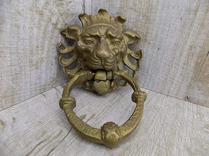 Massive Door Knocker Iron Medieval Knocker Antique