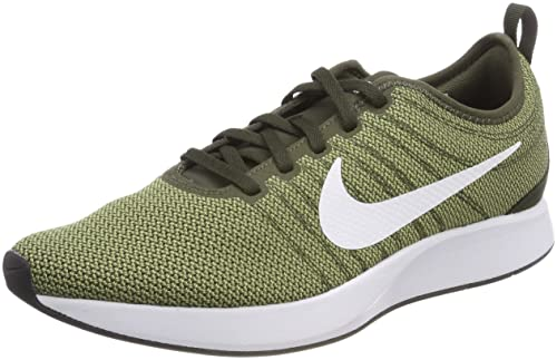 Nike Men's Dualtone Racer Gymnastics Shoes, Green (Cargo  Khakiwhitesequoianeutro 302), 6.5 UK