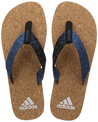 Adidas Men's Beach Cork Thong 2017 Flip-Flops and House Slippers Flip-Flops & House Slippers at amazon