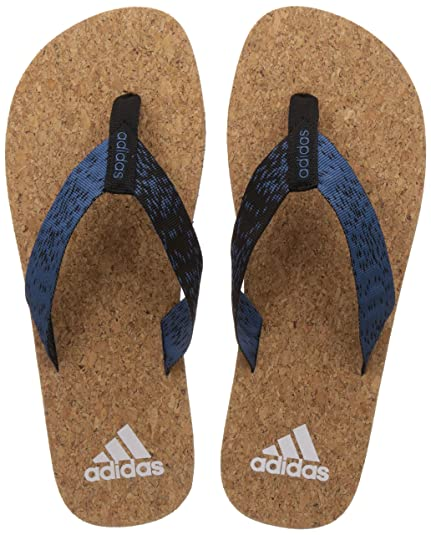 b1bb24a74425a Adidas Men s Beach Cork Thong 2017 Corblu Black White House Slippers - 6 UK