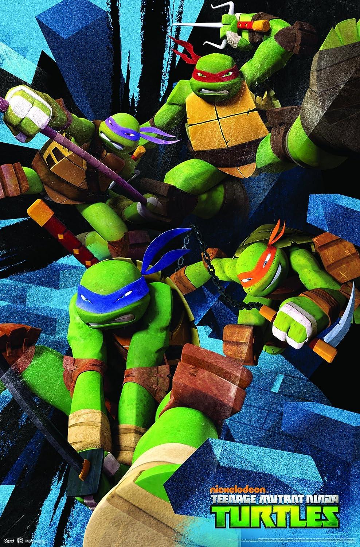 Trends International Teenage Mutant Ninja Turtles Attack, 22.375 x 34