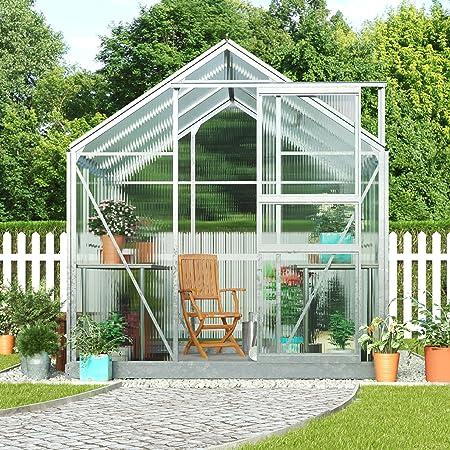 Invernadero grande de policarbonato para jardín, de Growhouse, con ...