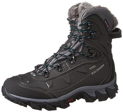 Salomon Nytro Gtx W, Chaussures de randonnée femme, Noir, 36 23