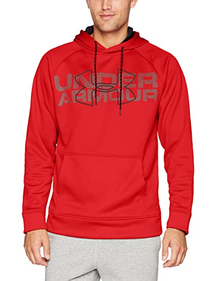 8dc28d1d3 Amazon.com: Under Armor Men's Storm Armour Fleece Graphic Hoodie ...