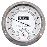 Baker Instruments B6020 Dial Thermo-Hygrometer, 0