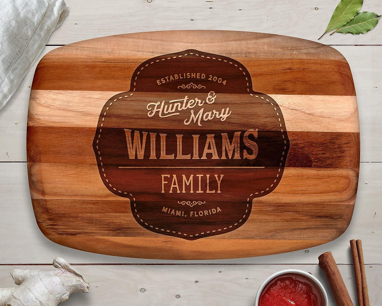 Amazon Com Christmas Gift Ideas Teak Cutting Board Premium Gift Romantic Gift Wood Gift Family Gifts Handmade