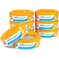 8-Pack Munchkin Arm and Hammer Diaper Pail Refill Rings