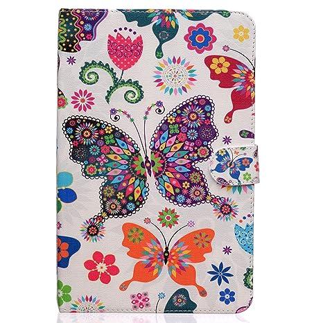 custodia tablet samsung tab e 9.6 farfalle