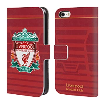 bad76b4a5 Official Liverpool Football Club Crest Home Shirt Kit  Amazon.co.uk   Electronics