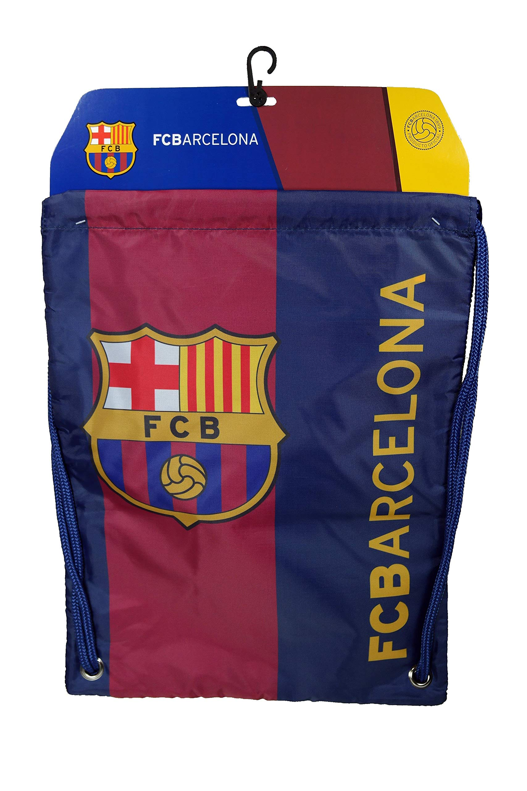Fc Barcelona Authentic Official Licensed Soccer Drawstring Cinch Sack Bag 01-2