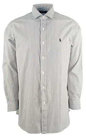0b4d6ff04 Polo Ralph Lauren Men s Classic Fit Striped Dress Shirt at Amazon ...