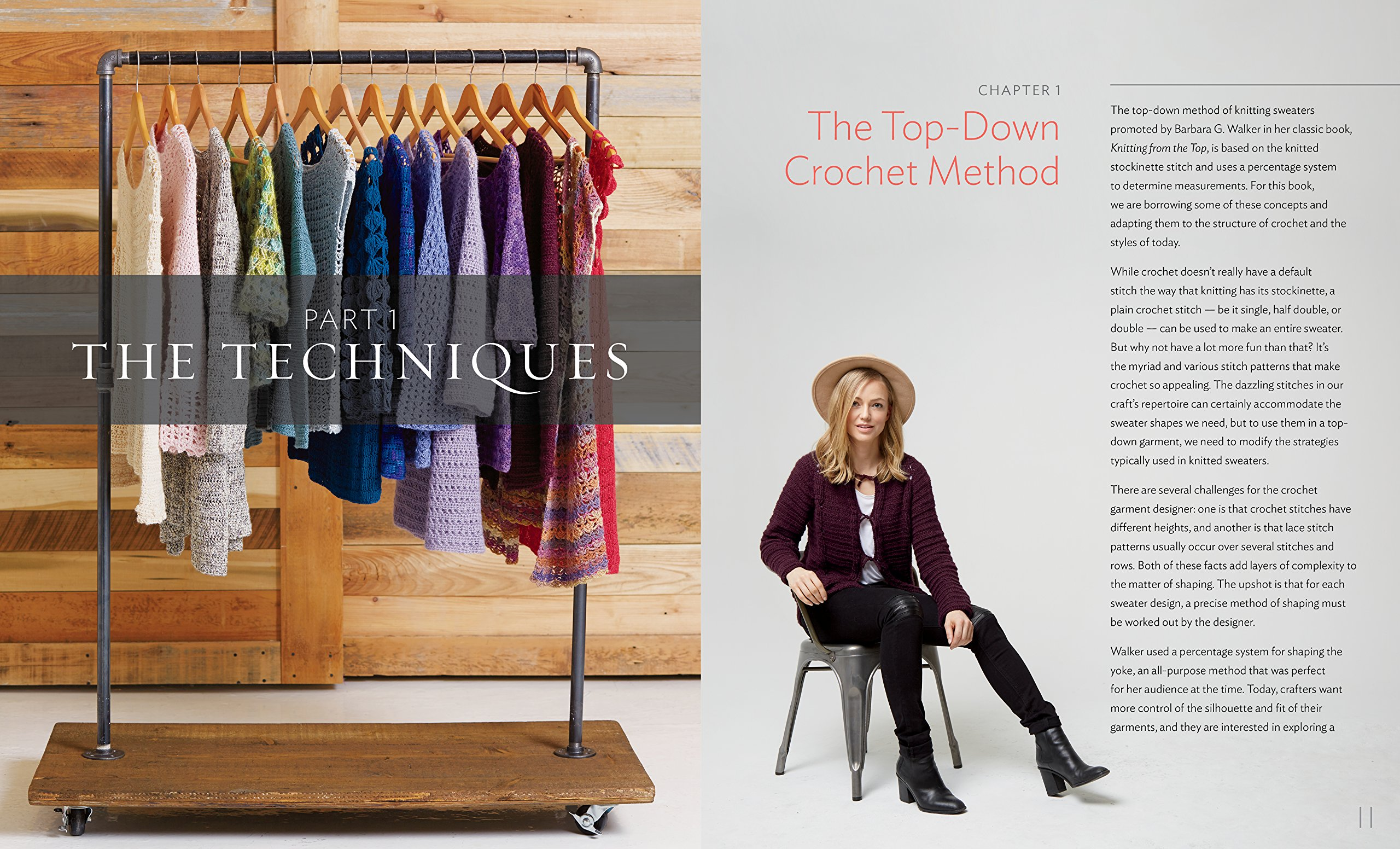 Amazon.com: Top-Down Crochet Sweaters: Fabulous Patterns with Perfect Fit  (9781612126104): Dora Ohrenstein: Books