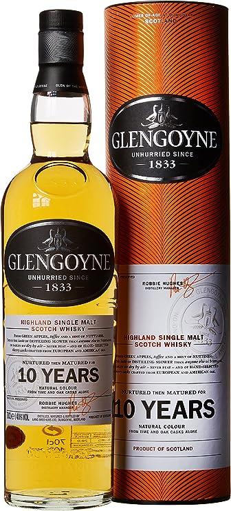 Glengoyne 10 Year Old Highland Single Malt Scotch Whisky 70cl