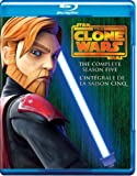 Star Wars: The Clone Wars - The Complete Season Five  [Blu-ray] (Bilingual)