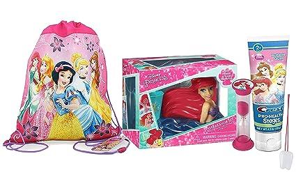 "Disney ""la Sirenita"" Ariel 6pieza Smile Set de regalo. Incluye cepillo de"