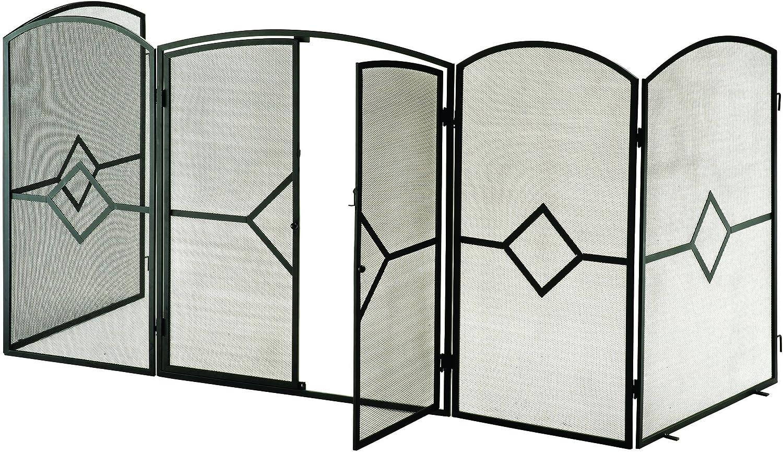 Pantalla protectora contra brasas para estufas y chimeneas (81.28 centímetros de altura)