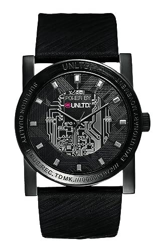 Ecko Unlimited Reloj Análogo clásico para Hombre de Cuarzo con Correa en Cuero E11516G1: Marc Ecko: Amazon.es: Relojes