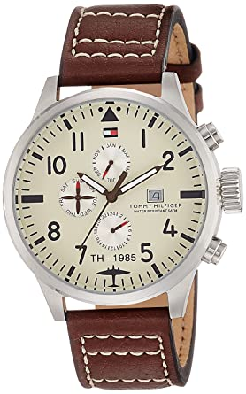 cddf4345 Image Unavailable. Image not available for. Colour: Tommy Hilfiger Analog  Yellow ...