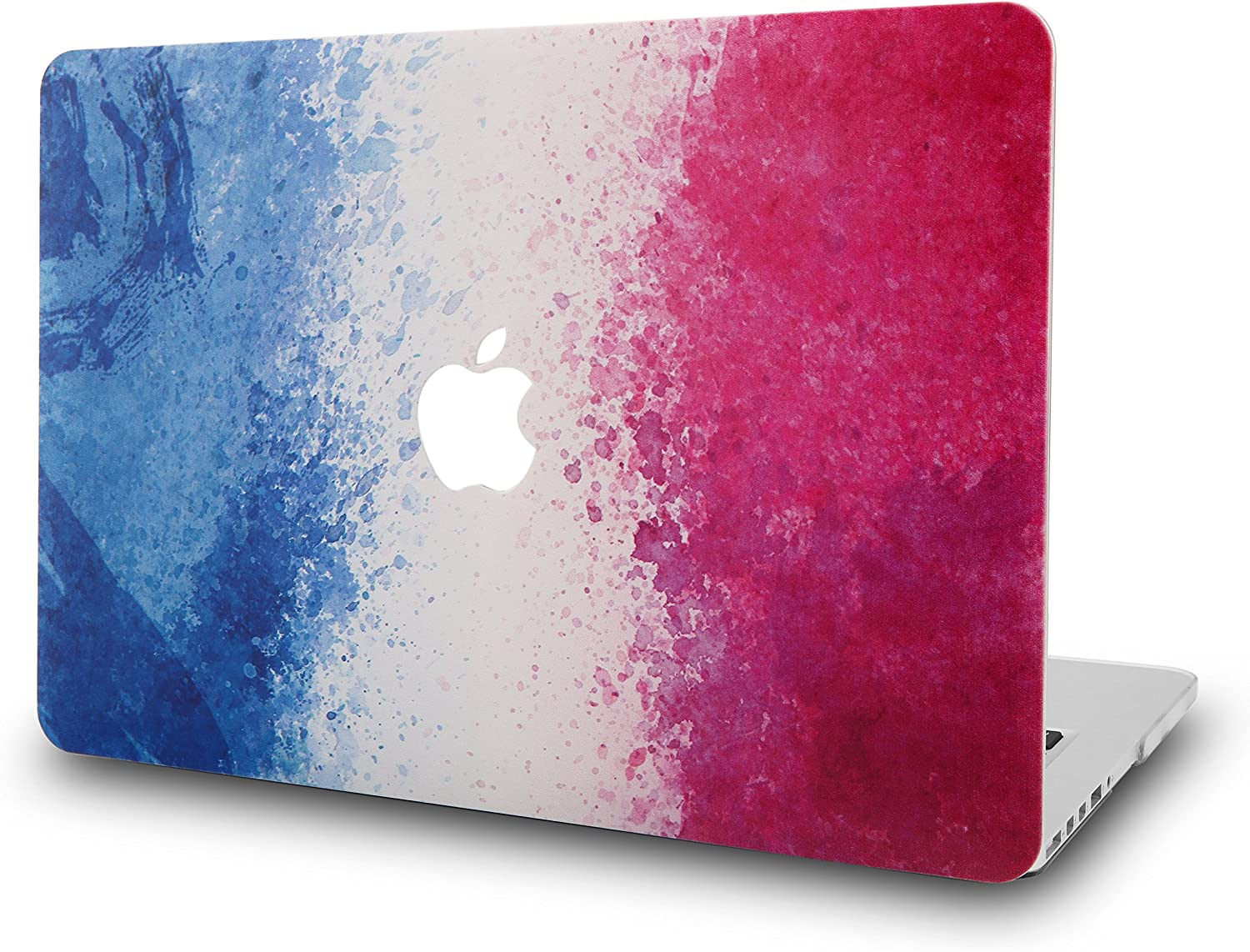 KECC Laptop Case for MacBook Air 13 Inch Plastic Case Hard Shell Cover A1466/A1369 (French Flag)