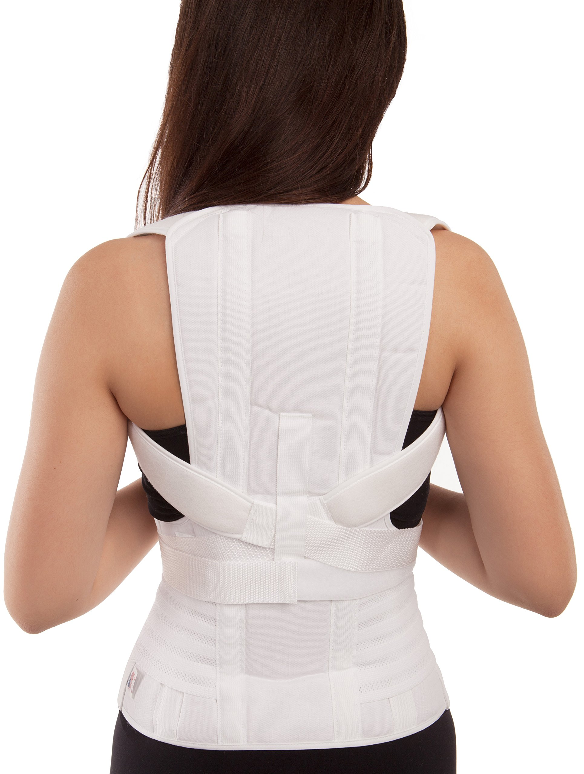 GABRIALLA Mid and Lower Back Posture Corrector for Women TLSO-250: Small
