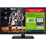 Dyon Live 24C freenet TV Edition 60 cm (23,6 Zoll) Fernseher (Full-HD, Triple Tuner, DVB-T2 H.265/HEVC)  [Energieklasse A] inkl. freenet TV Modul