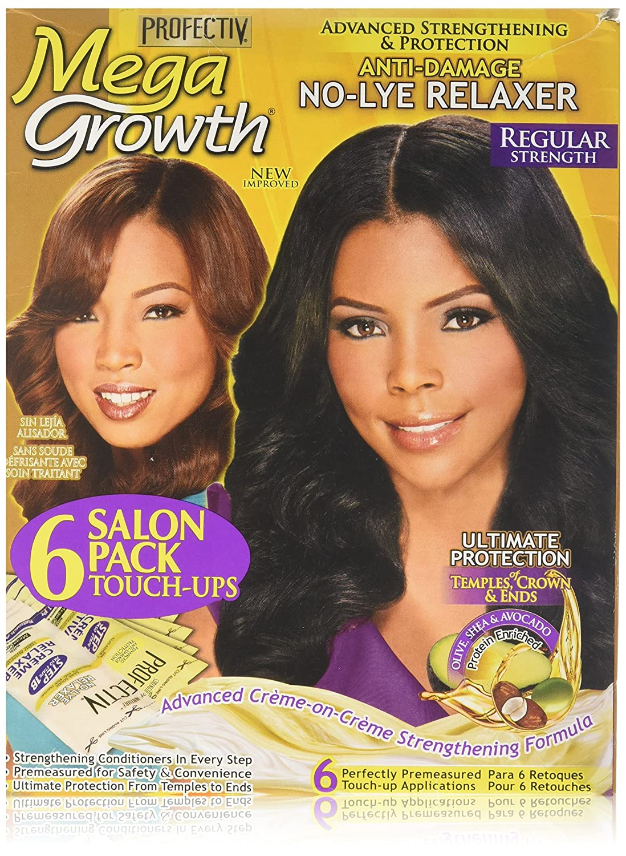 Profectiv Mega Growth Anti Damage No Lye Hair Relaxer Regular Strength Strength of Nature Global PRO001