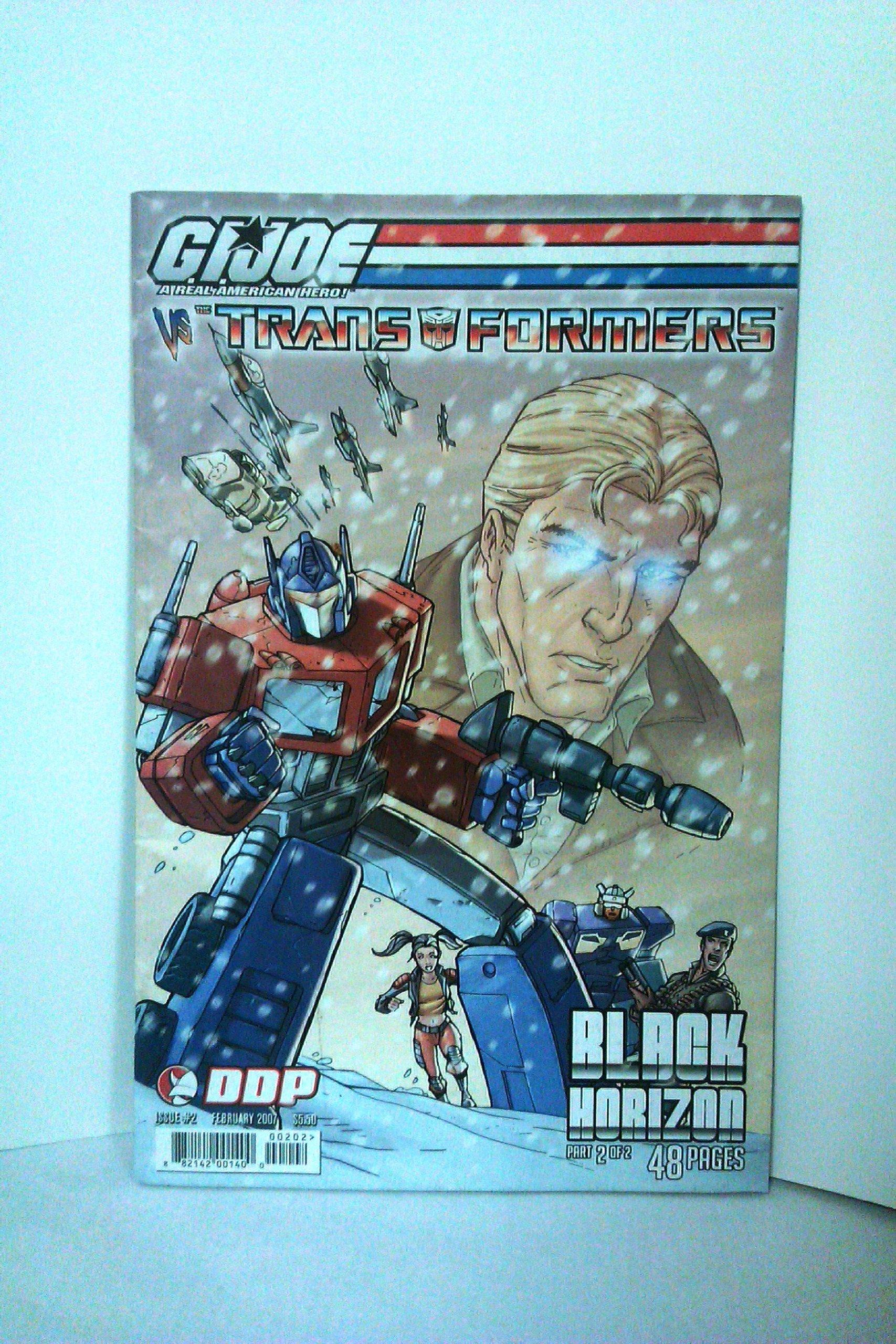 G.I. Joe Vs The Transformers Vol IV Black Horizon #2 Cover B pdf epub