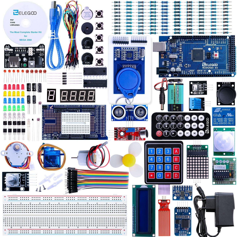 Elegoo Conjunto Mas Completo y Avanzado de Iniciación a Arduino MEGA con