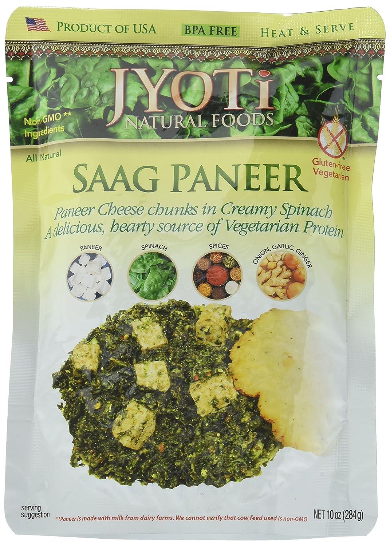 Jyoti Saag Paneer, 10 Ounce (Pack of 6)