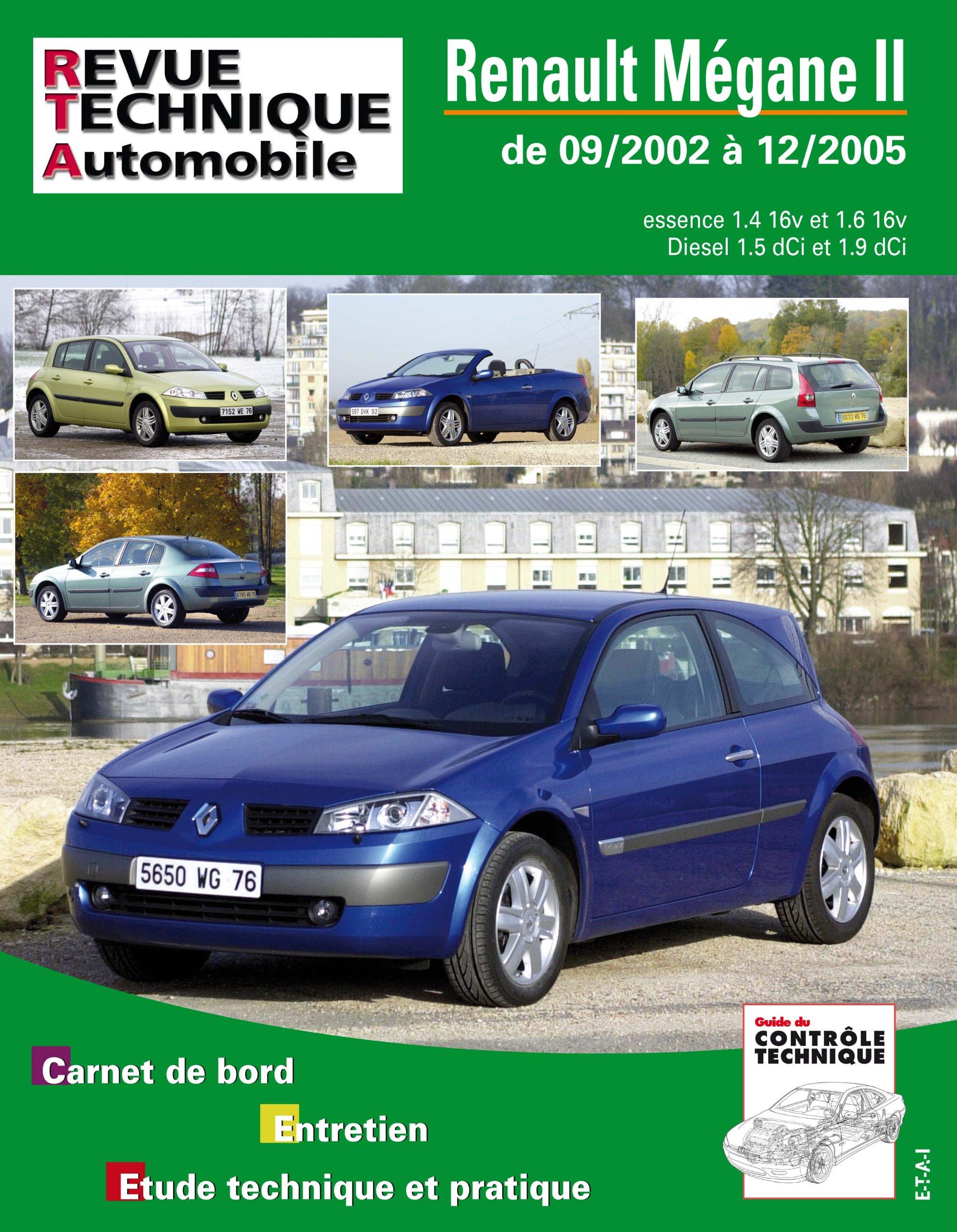 Rta 121.1 Renault Megane 2 Essence et Diesel: Amazon.es: Etai: Libros en idiomas extranjeros