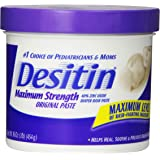 Desitin Maximum Strength Original Paste, 16 Ounce