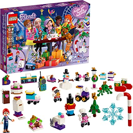 Amazon.com: LEGO Friends Advent Calendar 41382 Building Kit (330