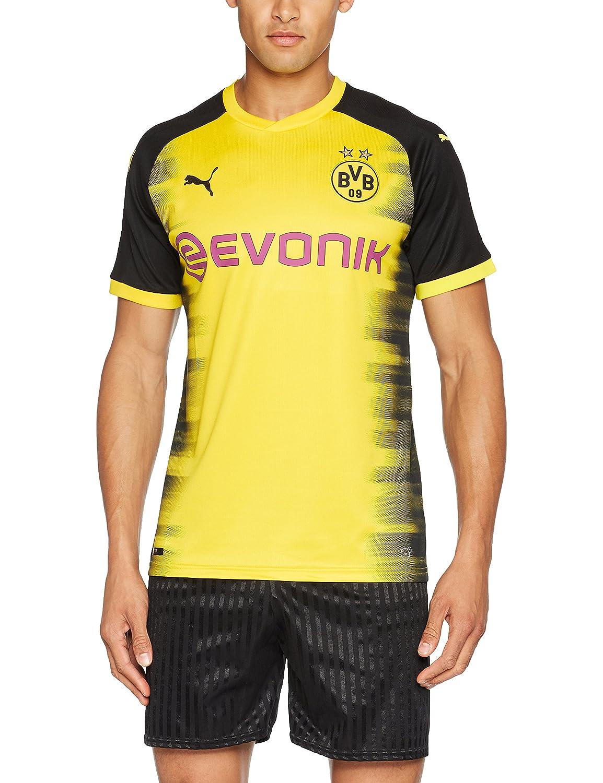 Puma Herren BVB Int& 039;l Replica Shirt with Sponsor Logo T
