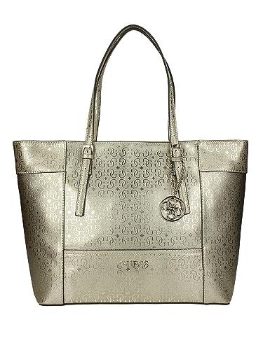 58a64a7b4d0e Guess Women s Top-Handle Bag gold  Amazon.co.uk  Shoes   Bags