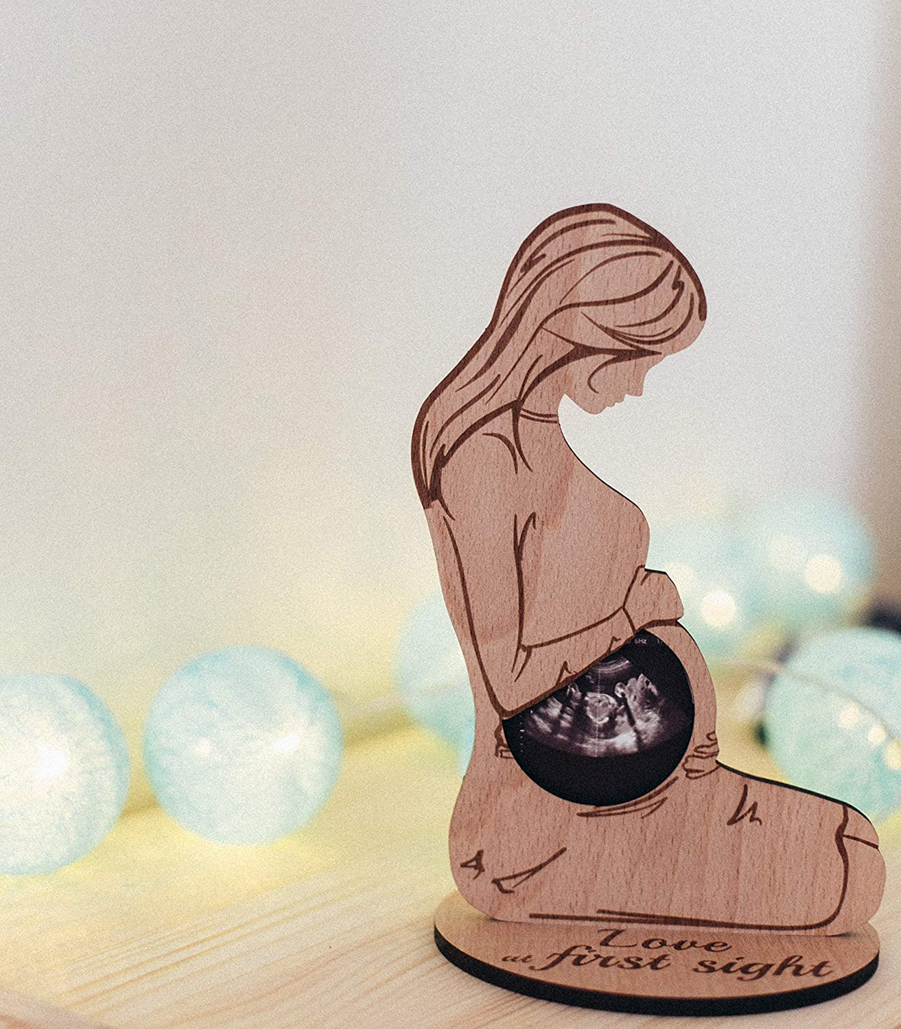 Mom to Be Sonogram Frame Pregnant Women Gifts Ideas Ultrasound Picture Frame