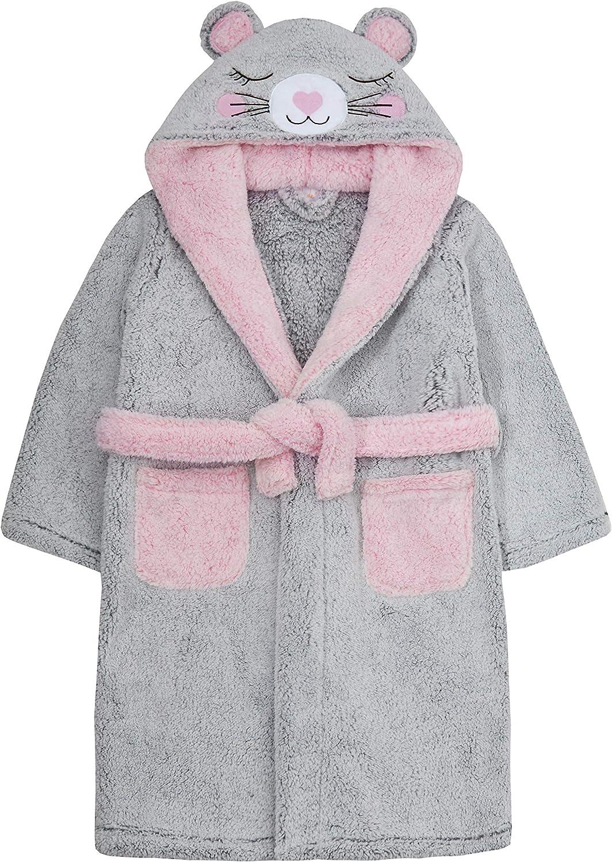 Minikidz Infant Girls Bunny Rabbit Dressing Gown with Hood