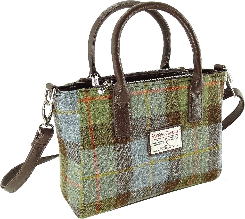 Women's Authentic Harris Tweed Small Tote Bag Brora LB1228