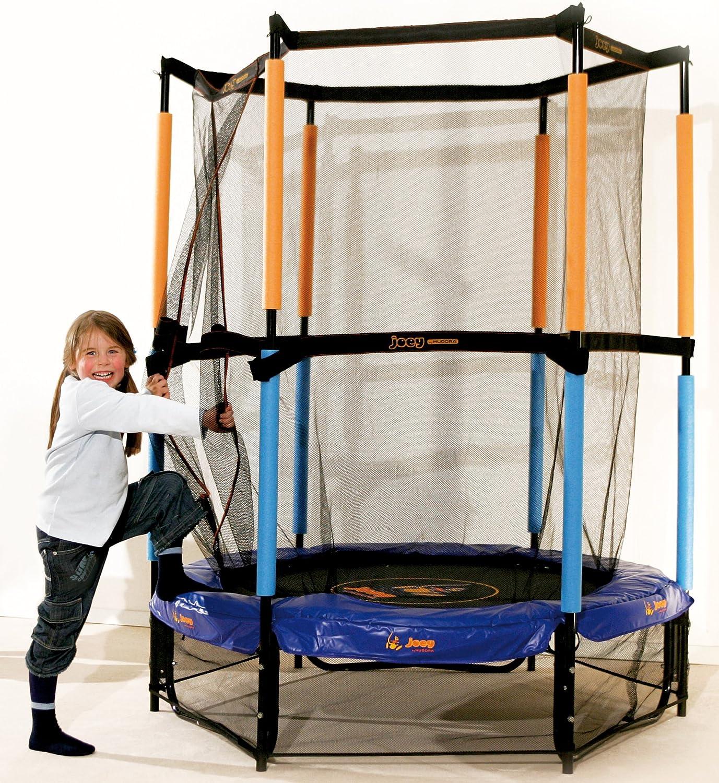 Garten Fitness Kinder Spielzimmer Trampolin Sicherheitsnetz 140 cm gepolstert