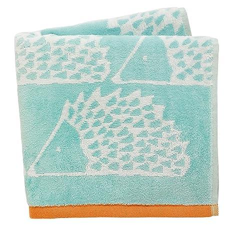 Scion Spike – Toalla de baño, algodón, Azul Claro, 70 x 125 x