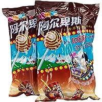 阿尔卑斯香草可乐味棒棒糖20支*2