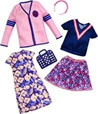 Barbie Muñeca Fashion Modas Varsity, 2 Pack