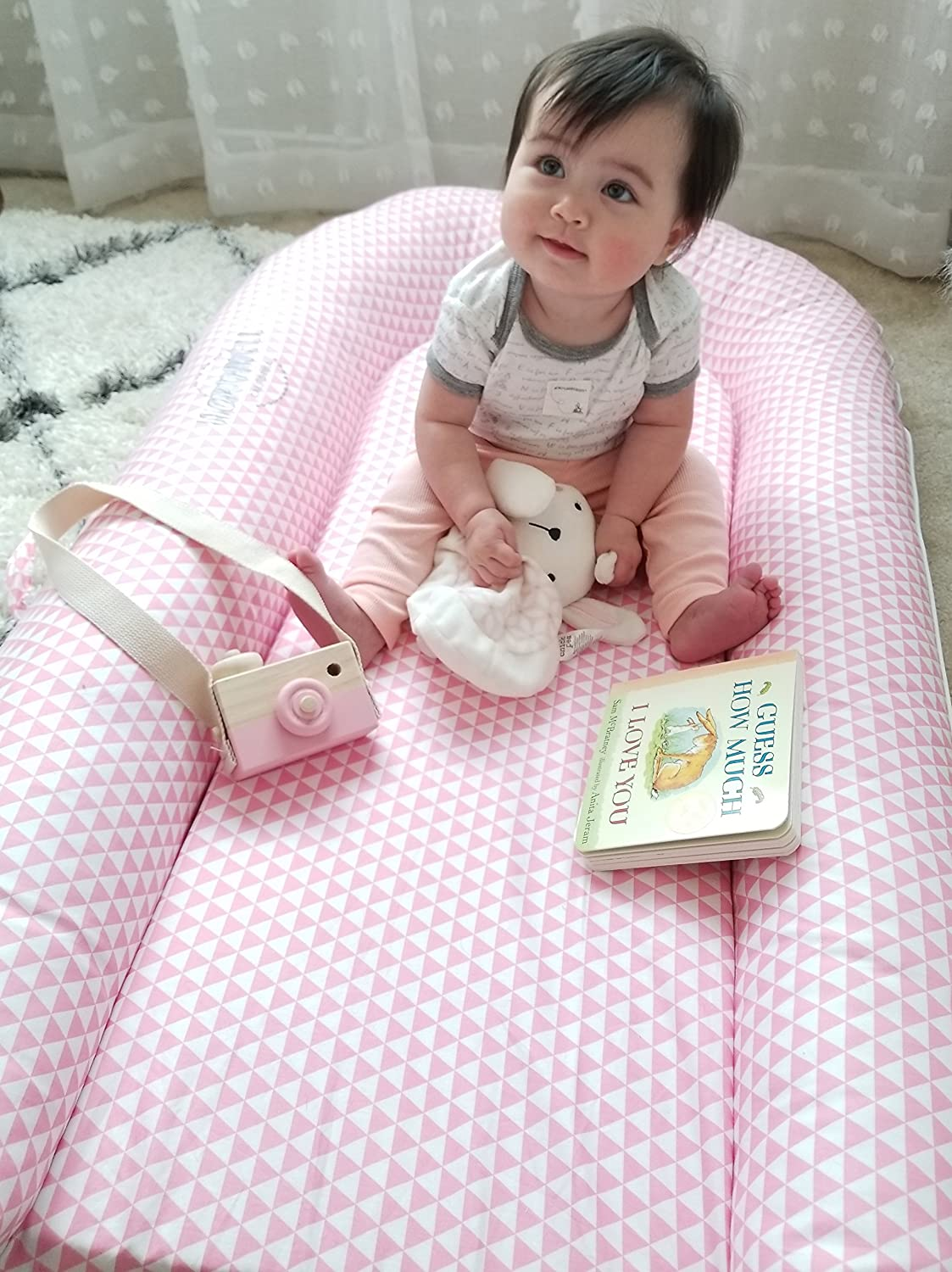 Toddler Lounger and Resting Station Appropriate for 9-36 Months CuddleNest Mighty by Northwell Haven