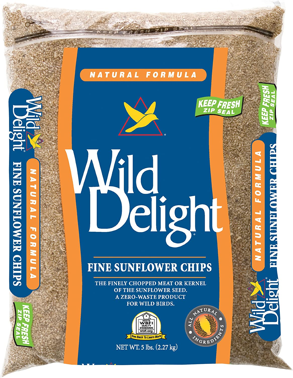 Wild Delight Fine Sunflower Chips, 5 lb