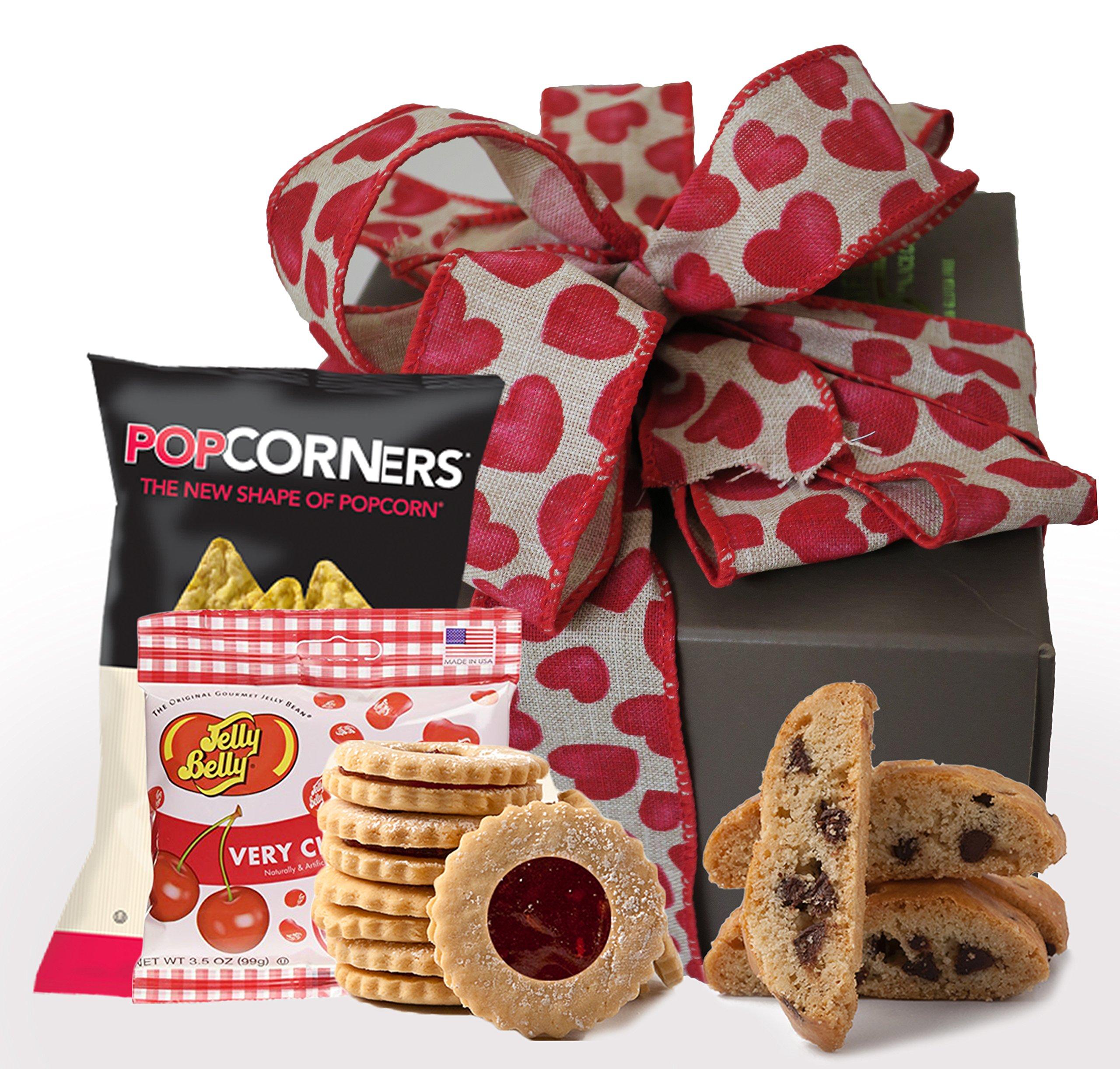 My Sweetheart! Kosher Valentine Gift Box, Valentine Day Cookies, Gluten Free Valentine Treats, Valentine Gift Basket, Valentine Box