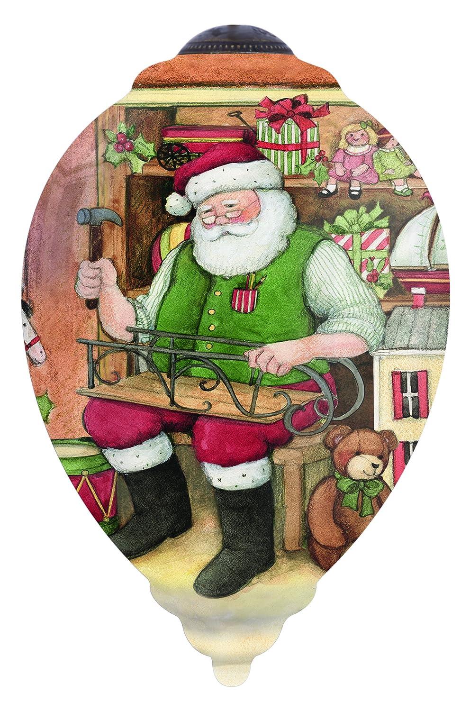 Unbekannt Ne'Qwa Art Art Art  7151176, Santa's Toy Shop, Künstler Susan Winget, Trillion, Glas aeae8a