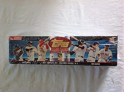 Amazoncom 2001 Topps Baseball Complete Set Includes