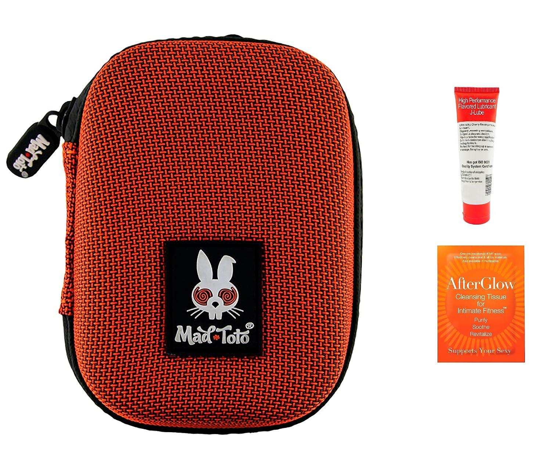 b79a27647edb3e Amazon.com: Bundle-3 Items: Mad Toto Sparky Case 2.0 - Orange, Toy Cleaner  & Lube: Health & Personal Care