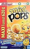 Kellogg's Céréales Miel Pops 620 g - Lot de 3